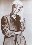 DAVID BOWIE - unbenutzte Postkarte - USA um 1990