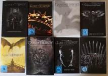 GAME OF THRONES - Die KOMPLETTE Serie auf DVD - 8 Staffeln