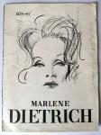 MARLENE DIETRICH - Programmheft - Queen´s Theater - London von 1964