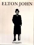 Auktionskatalog - ELTON JOHN - Sotheby´s England 1988