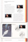 First Day Cover - JIM MORRISON (The Doors) - Deutschland 1988