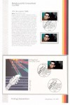 First Day Cover - BUDDY HOLLY - Deutschland 1988