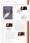 First Day Cover - JOHN LENNON (The Beatles)  - Deutschland 1988