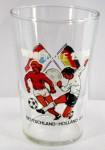 Souvenierglas zum WM FINALE 1974 - Deutschland-Holland