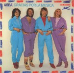 LP - Vinyl, ABBA - Gracias Por La Musica - England 1980